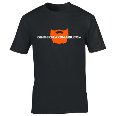 Gingerbeard Mark - Logo T-Shirt Thumbnail