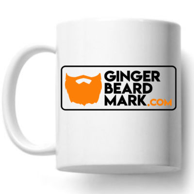 Gingerbeard Mark - Official Sunday Wanders Mug Thumbnail
