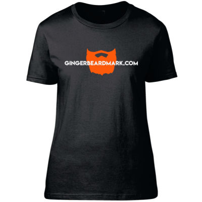 Gingerbeard Mark - Logo - Fitted Women's T-Shirt Thumbnail