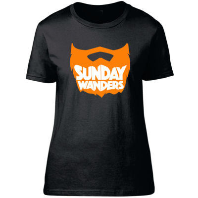 Gingerbeard Mark - Sunday Wanders - Fitted Women's T-Shirt Thumbnail